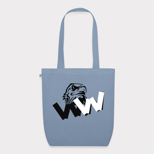 White and Black W with eagle - EarthPositive Tote Bag