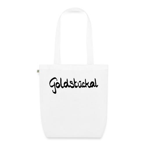 Goldstückal - Bio-Stoffbeutel