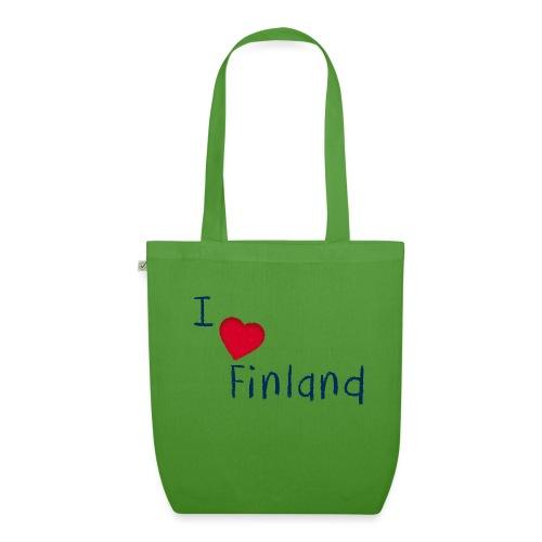 I Love Finland - Luomu-kangaskassi