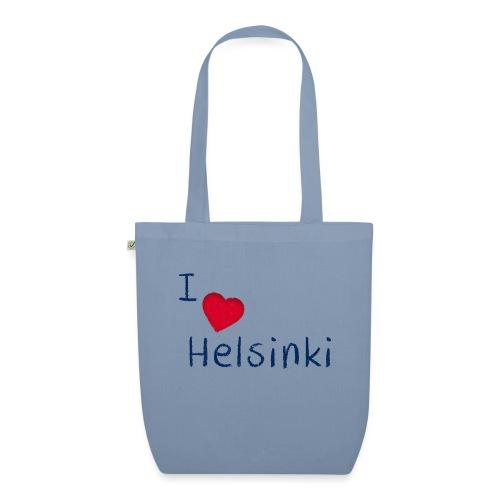 I Love Helsinki - Luomu-kangaskassi