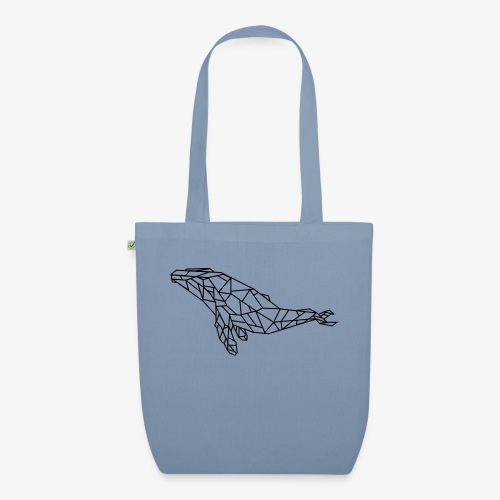 whale - Borsa ecologica in tessuto