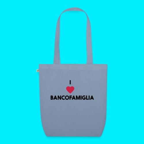 BANCOFAMIGLIA CuoreNera - Borsa ecologica in tessuto