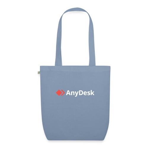 AnyDesk - logo white - Bio-Stoffbeutel