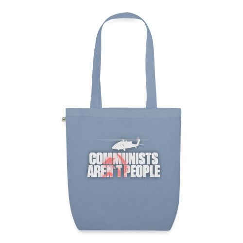 Communists aren't People (White) (No uzalu logo) - EarthPositive Tote Bag