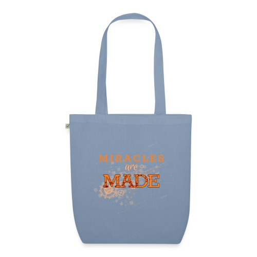 Miracles are Made - EarthPositive Tote Bag