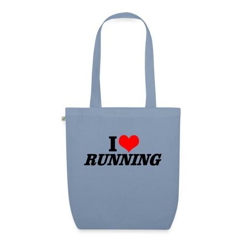 I love running - Bio-Stoffbeutel