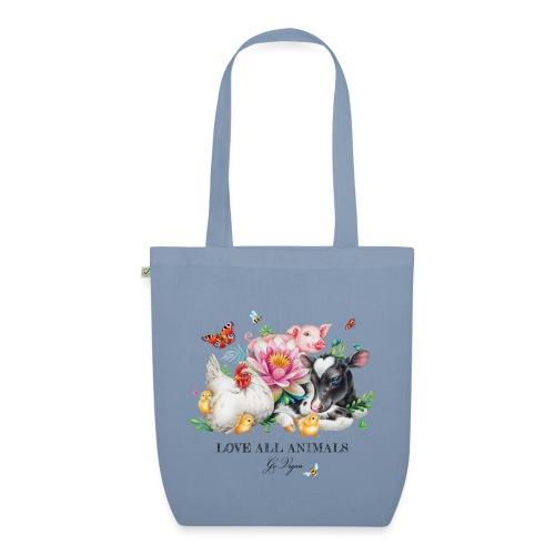 Go vegan - EarthPositive Tote Bag