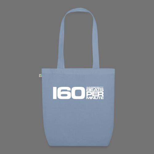 160 BPM (white long) - EarthPositive Tote Bag