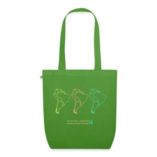 Ramer-Douglas-Peucker Algorithm - South America - EarthPositive Tote Bag