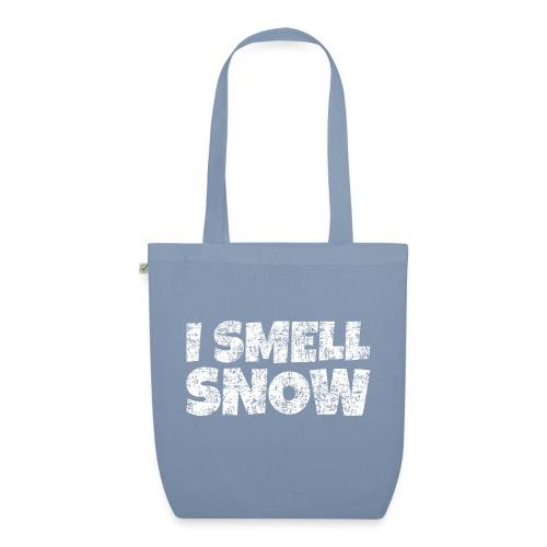 I Smell Snow Schnee, Weihnachten & Wintersport - Bio-Stoffbeutel