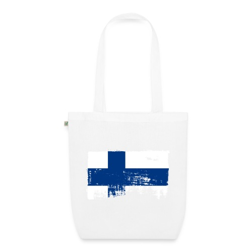 Suomen lippu, Finnish flag T-shirts 151 Products - Luomu-kangaskassi
