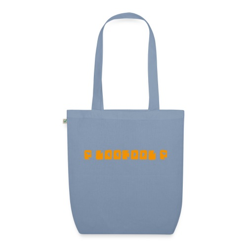 P loofool P - Orange logo - Bio-stoffveske