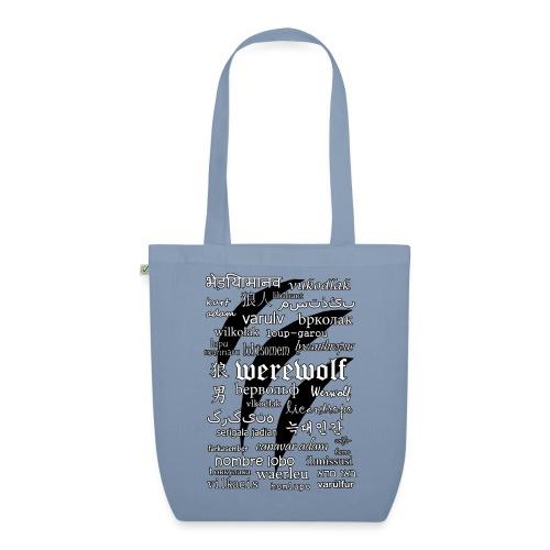 Werewolf in 33 Languages - Ekologiczna torba materiałowa