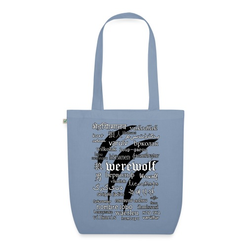 Werewolf in 33 Languages.png - EarthPositive Tote Bag