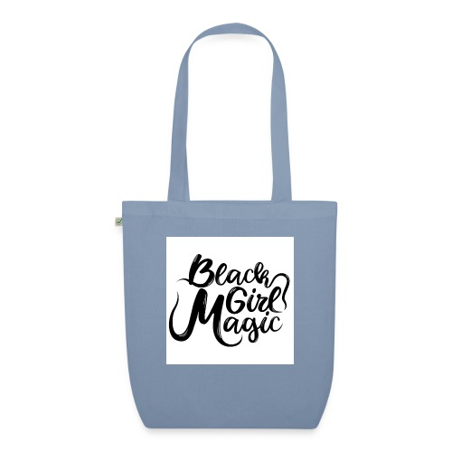 Black Girl Magic 1 Black Text - EarthPositive Tote Bag