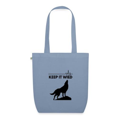Keep it wild - Bio-Stoffbeutel