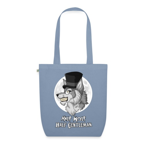 Half Wolf Half Gentleman - EarthPositive Tote Bag