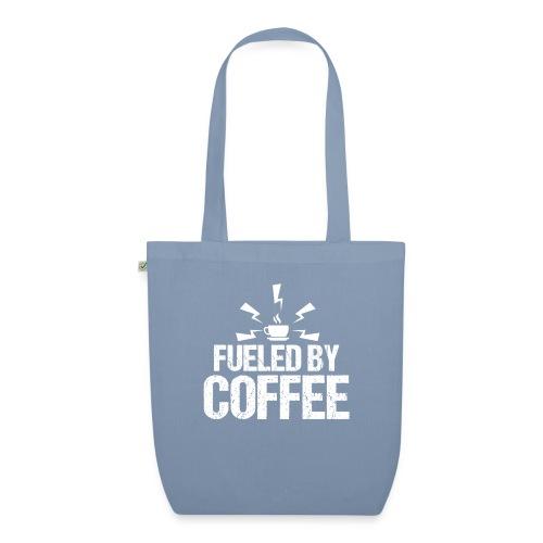 Fueled By Coffee - Angetrieben von Kaffee - Bio-Stoffbeutel