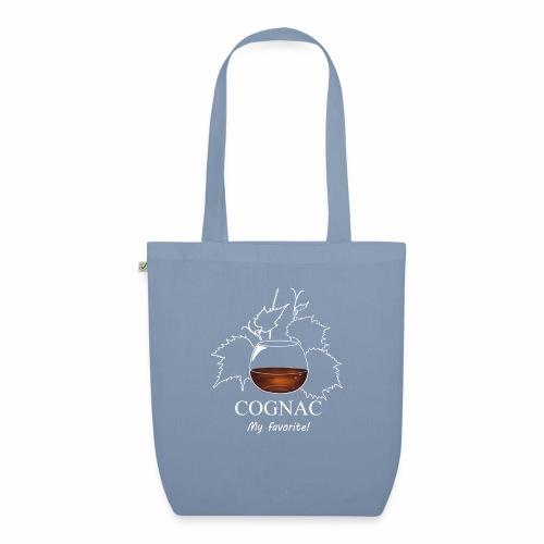 cognac - Sac en tissu biologique