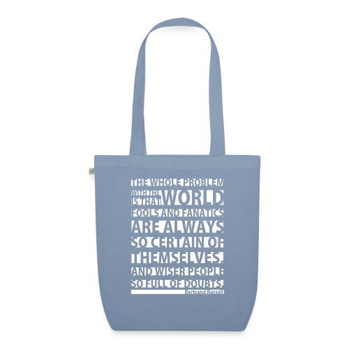 The Whole Problem with the World - EarthPositive Tote Bag