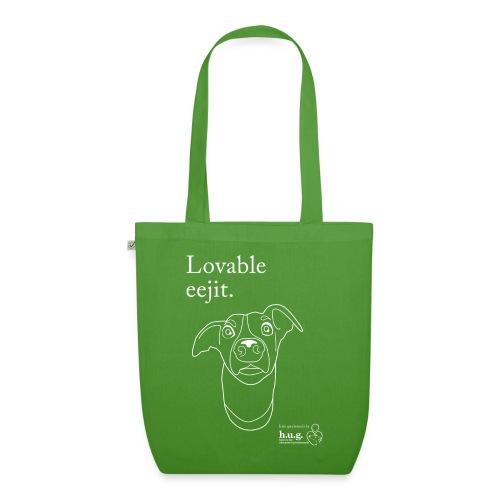 Lovable eejit - EarthPositive Tote Bag