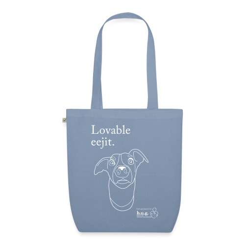 Lovable eejit - EarthPositive Tote Bag