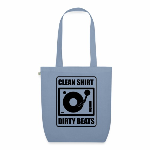 Clean Shirt Dirty Beats - Bio stoffen tas