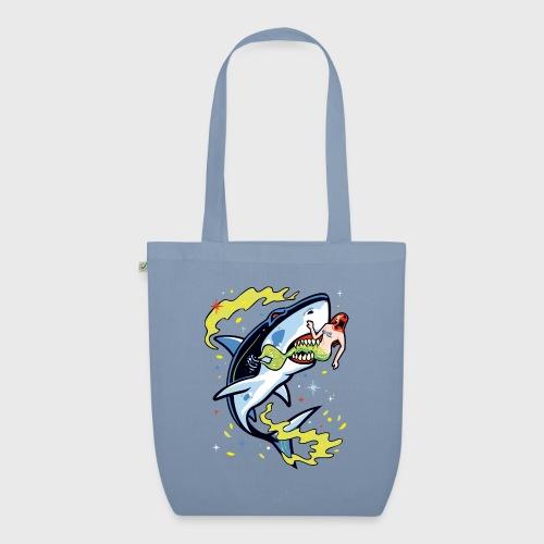 Requin mangeur de sirène - Sac en tissu biologique