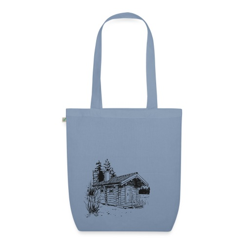 The sauna is my happy place - EarthPositive Tote Bag