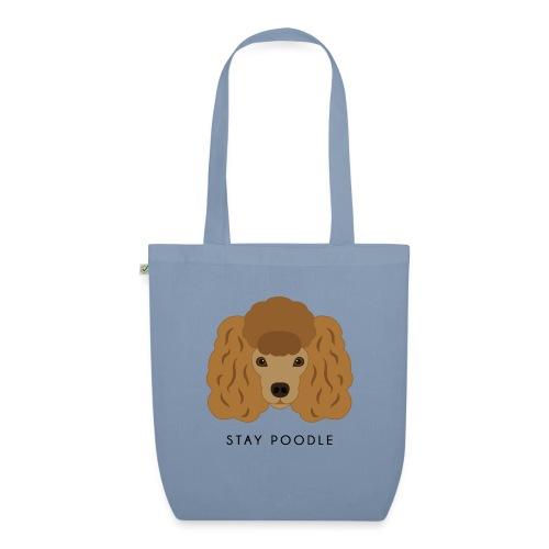 Poodle Brown - Borsa ecologica in tessuto