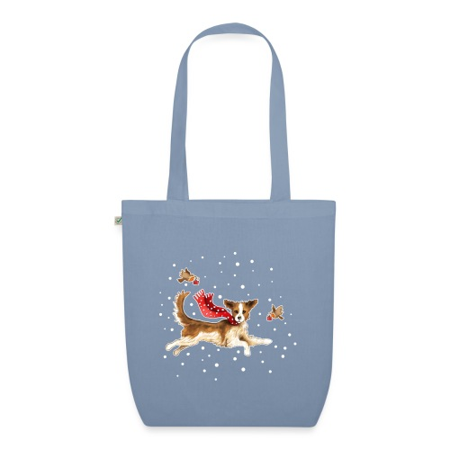 Suza met sneeuwvlokken - EarthPositive Tote Bag