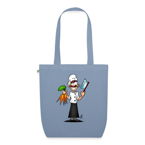 The vegetarian chef - EarthPositive Tote Bag