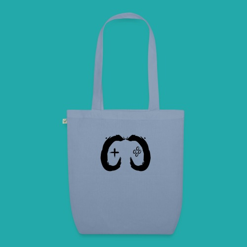 Crowd Control Controller Logo Black Large - EarthPositive Tote Bag