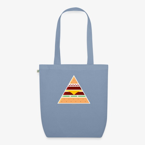 Triangle Burger - Borsa ecologica in tessuto