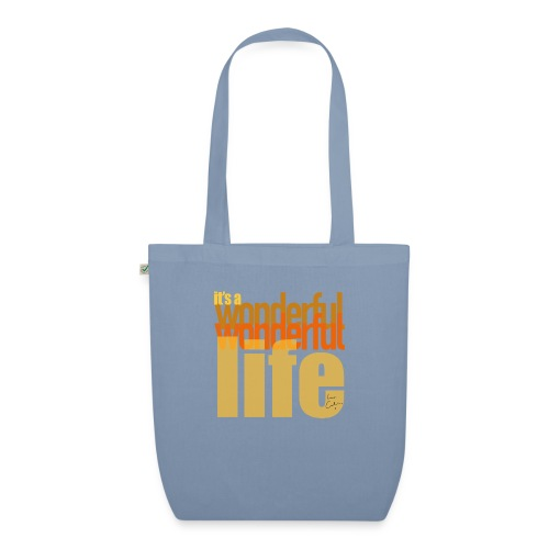 It's a wonderful life beach colours - EarthPositive Tote Bag