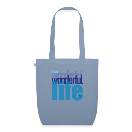 It's a wonderful life blues - EarthPositive Tote Bag