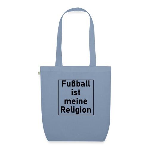 Fußball ist meine Religion V2 - Bio-Stoffbeutel