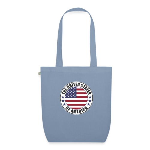 The United States of America - USA flag emblem - EarthPositive Tote Bag