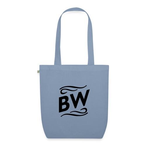 Black BW logo - Ekologisk tygväska