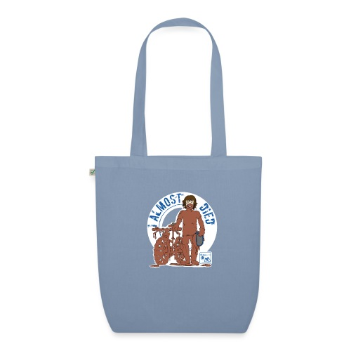 I almost died - EarthPositive Tote Bag
