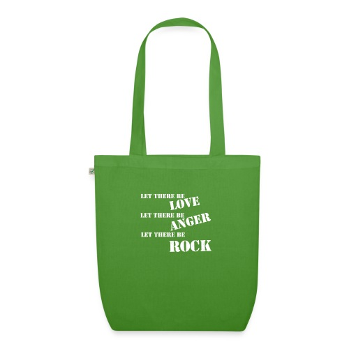 Love Anger Rock - EarthPositive Tote Bag