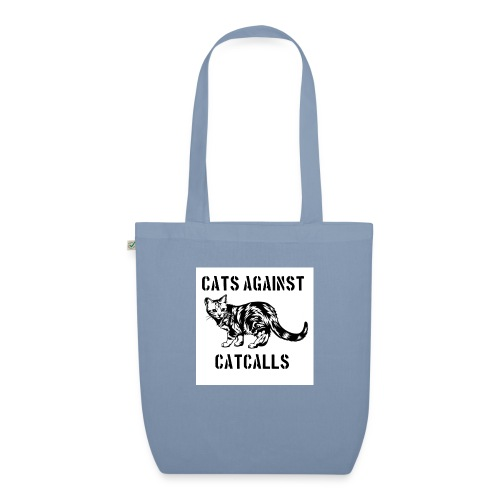 Cats against catcalls - EarthPositive Tote Bag