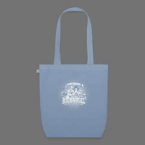 Rock 'n' Roll - Sounds Like Heaven (white) - EarthPositive Tote Bag