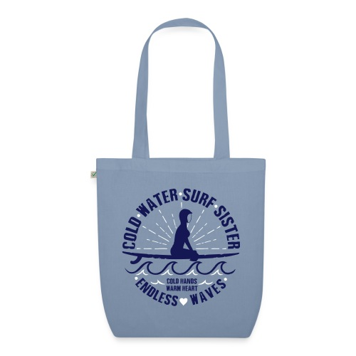 Cold Water Surf Sister - EarthPositive Tote Bag