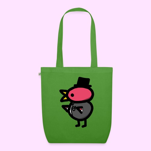 Fancy Pinkguin - Øko-stoftaske