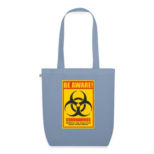 Be aware! Coronavirus biohazard - EarthPositive Tote Bag