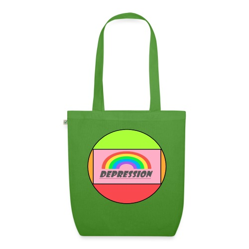 Depressed design - EarthPositive Tote Bag