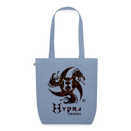 Hydra Design - logo Cracked lava - Borsa ecologica in tessuto