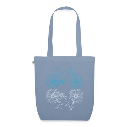 Mountainbike Fahrrad Radsport Skizze - Bio-Stoffbeutel