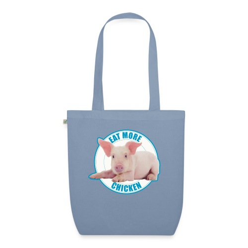 Eat more chicken - Sweet piglet - EarthPositive Tote Bag